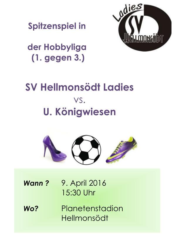 Flyer SVH Ladies - Koenigswiesen