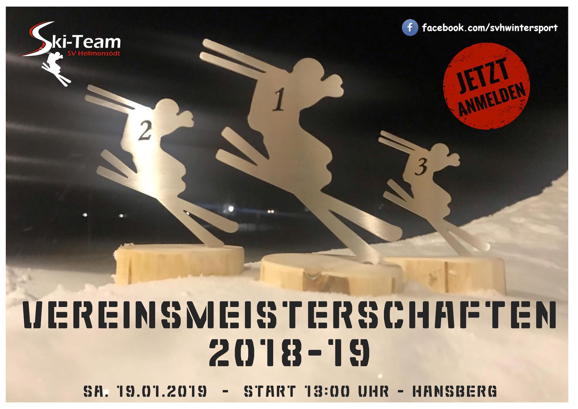 Flyer Vereinslauf 2019
